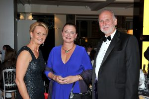 BSPD Dinner - Janet & Chris with Sarah Hurley